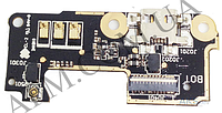 Шлейф (Flat cable) Asus ZenFone 5 Lite (A502CG),   с разъемом зарядки с микрофоном