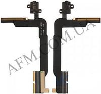 Шлейф (Flat cable) iPad 3/  iPad 4 с коннектором наушников