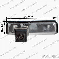 Камера Prime-X CA-9019 Mitsubishi. LEXUS. TOYOTA