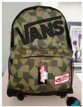 Городской рюкзак Vans зеленый (реплика)