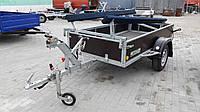 Прицеп комбинированый бортовой+для резиновой лодки 2,45м х 1,25м.
