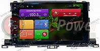 Штатная магнитола RedPower 21184B Toyota Highlander Android