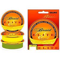Шнур Salmo Elite Braid Yellow 125м 0,15мм 7,45кг желтый
