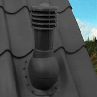 KRONOPLAST KBW-1 (110 мм) Вент.выход (металлочерепица до 34 мм)