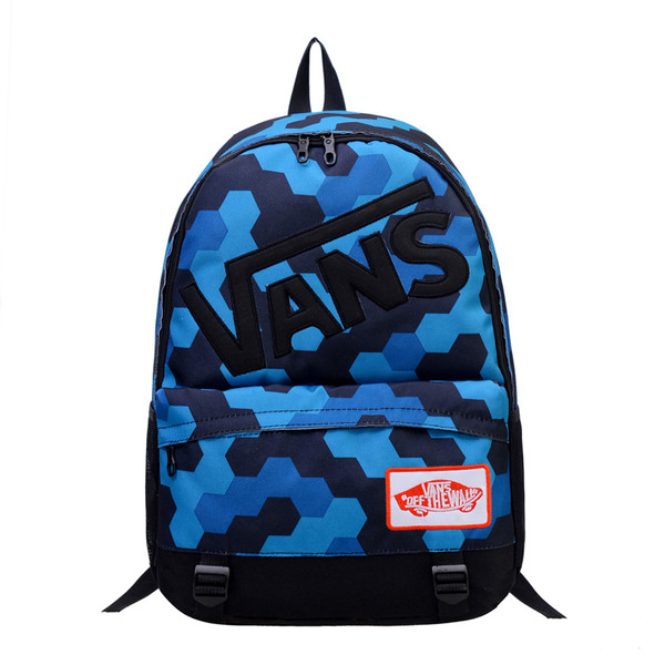 Рюкзак  Vans голубой (реплика)