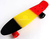 "Пенни Борд Penny Board ""Tricolor 1"""