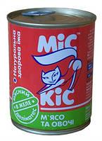 Мис Кис консервы мясной деликатес 370 мл Мясо с овощами в желе 340 г