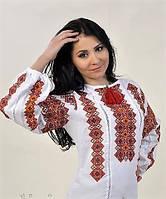 """Вышитая женская блуза на лене""""Одарка"""""""