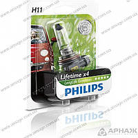 Лампа галогенная Philips H11 LongLife EcoVision 12362LLECOB1