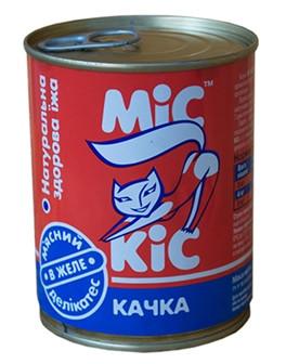 Мис Кіс консерви м'ясний делікатес 370 мл Качка в желе 340 г