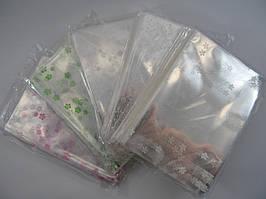 Пакет для упаковки пряников 20х30 с мелким рисунком