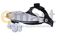Бинокулярная лупа с LED подсветкой 1X — 6X увеличения Magnifier 81001-H, фото 1