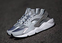 Женские кроссовки Nike Air Huarache Wolf Grey 634835-004, Найк Аир Хуарачи, фото 2
