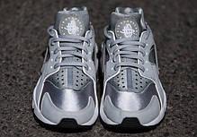 Женские кроссовки Nike Air Huarache Wolf Grey 634835-004, Найк Аир Хуарачи, фото 3