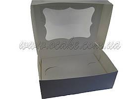 Коробка на 12 капкейков, с окном