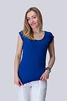 Летняя распродажа! Женская однотонная футболока. Синяя, розовая, черная. S, M, L.