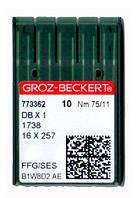 Иглы для промышленных швейных машин Groz-Beckert DBx1/1738/16x257/71x1 75 SES