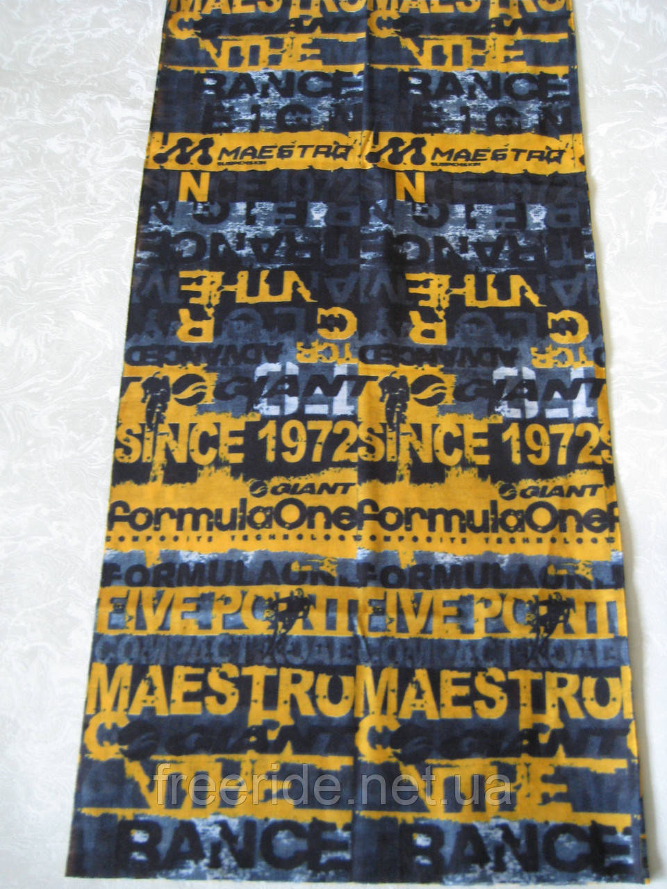 Летний бафф, buff, бесшовный шарф, повязка (#77)