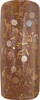 Акриловая пудра цветная для дизайна 15 гр., Про формула, Цвет: Алмазная крошка, Pro Formula Diamond Head Broun