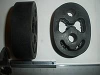 Подушка подвески глушителя ГАЗ 3309 Газон, 33104 Валдай (3105-1203163, пр-во ЯРТИ)