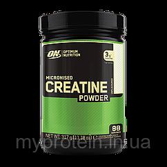 Креатин микронизад Оптинум Нутришн Optinum Nutrition Micronized Creatine 317 gr 88 порций