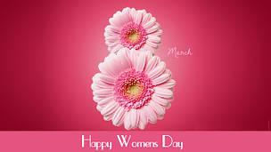 Поздравляем женщин с 8 марта!!