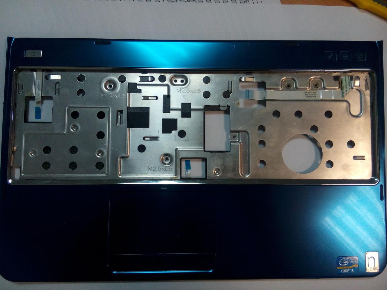Верхняя рамка клавиатуры (палмрест) DELL Inspiron 15R N5110 M5110 CN-0MDM6N-38561-19L-0153-A00 0MDM6N
