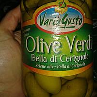 Оливки с косточкой, 530 грамм, Италия