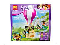Конструктор для девочки bela friends Воздушный шар Хартлейк Сити 10546 260 деталей в коробке