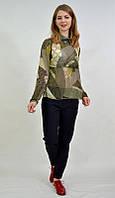 Женская блузка  лёгкая шифон 7552 MEES Турция