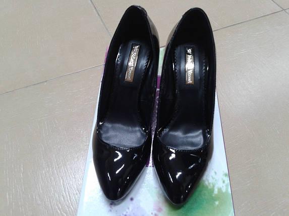 Классические женские туфли из лаковой кожи от ТМ FOLETTI, фото 2