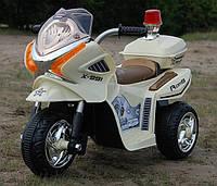 Детский электромобиль-трицикл полицейский
