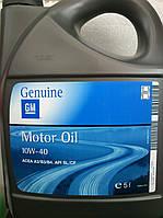 Моторное масло General Motors GM 10w40 (5 литров)