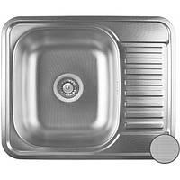 Кухонная мойка из нержавеющей стали Galati Sims Decor 7134