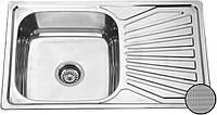 Кухонная мойка из нержавеющей стали Galati Constanta Decor 7139