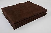 Полотенце Lotus 30х50 см махровое Basic плотность 420 коричневое