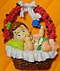 """Молд силиконовый """"Младенец в корзинке"""" 7,5 см 8 см, фото 3"""