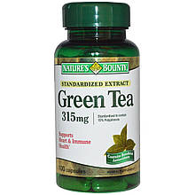 Экстракт зеленого чая Nature's Bounty 315 мг, 100 капсул