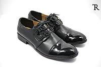 Мужские кожаные весенние туфли
