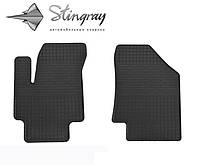 Коврики резиновые в салон Kia Rio II с 2005 передние (2шт) Stingray