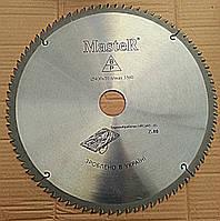 Круг отрезной по дереву с твёрдосплавной напайкой Master 400/50 мм