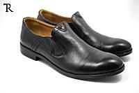 Мужские кожаные осенние туфли