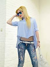 Женские джинсы голубые рваные итальянские Dsquared, фото 2