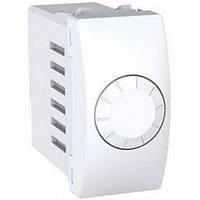 Светорегулятор (диммер) поворотно-нажимной на 60-400 Вт/ВА 1 модуль Schneider Electric Unica Белый MGU3.559.18