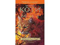 Світовий бестселер Книга  Коти-вояки Здіймається буря 4