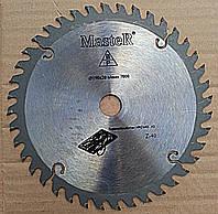 Круг отрезной по дереву с твёрдосплавной напайкой Master 190/30 мм