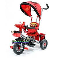 Детский трехколесный велосипед CARS