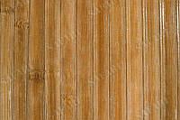 Обои из бамбука (тёмные-пропиленные) ширина планки;17мм высота  1,5 м.