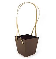 Подарочная упаковка для цветов 14X14X15cm (Код: Gifts-box-184-2)