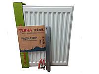 Стальной радиатор Terra Teknik 500x400 нижнее подключение 22 тип